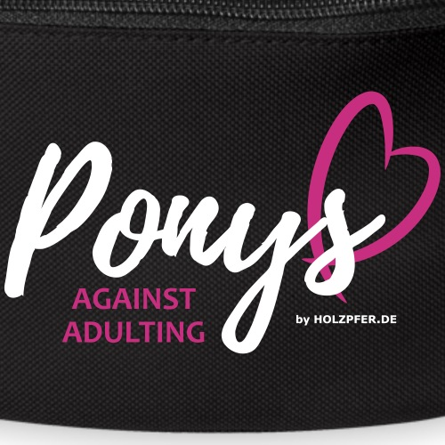 Ponys against adulting