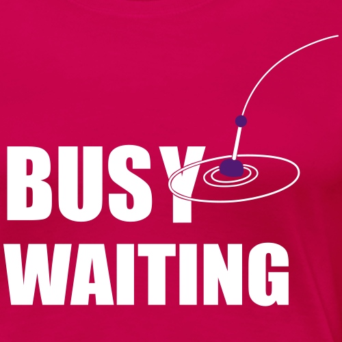 Busy Waiting - Float