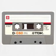 Design ~ Retro Cassette - front only