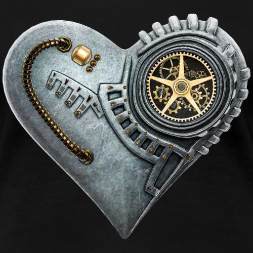 20 Steampunk Clockwork Heart #1A