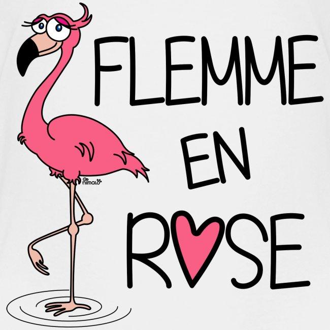 T-shirt P Ado Flamant Rose / Flemme en Rose