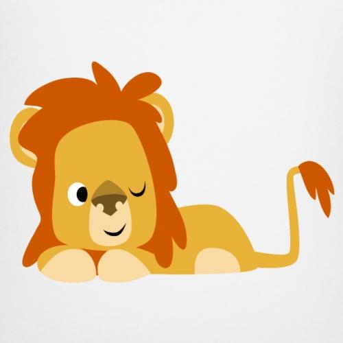 Cute Half-Asleep Cartoon Lion by Cheerful Madness!