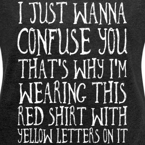 Shirt of Confusion Total Verwirrt Farbenblind