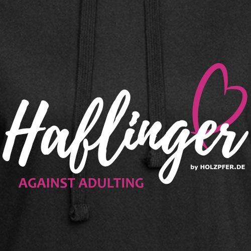 Haflinger against adultin