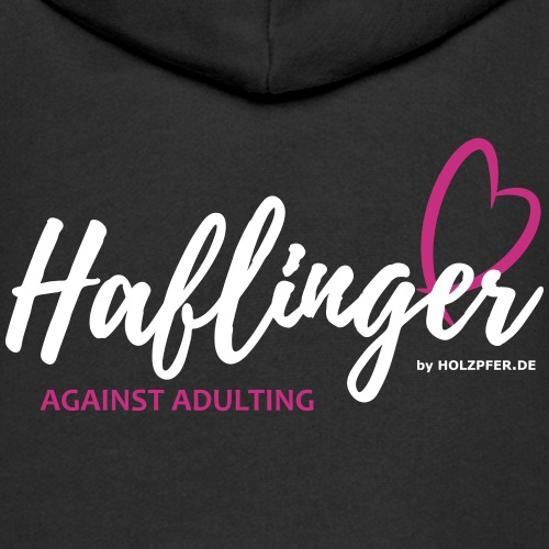 Haflinger against adultin