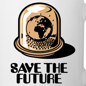 White Save the future Mugs  - Mug