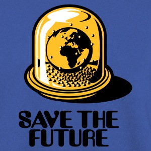 Green Save the future Hoodies & Sweatshirts - Men's Sweatshirt