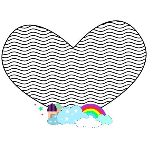 Coeur dans le ciel