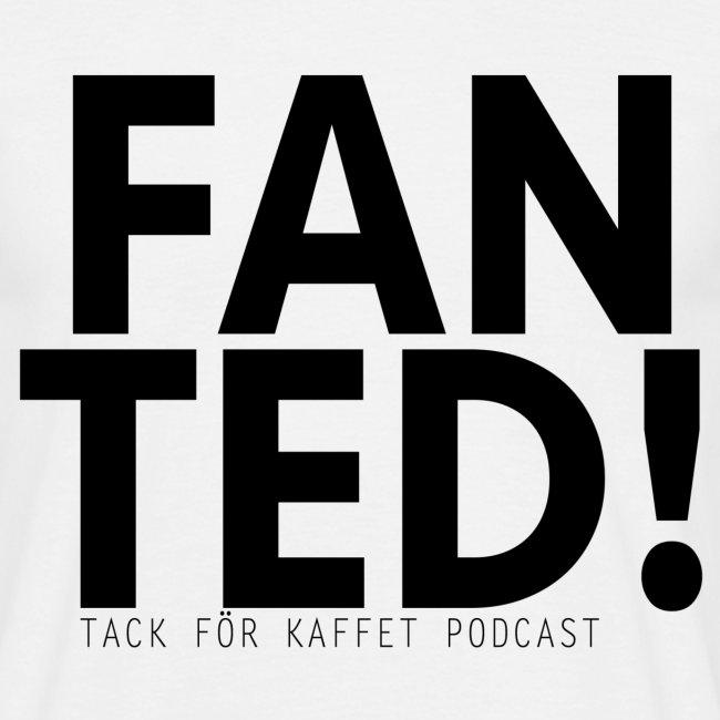 """""""FAN TED"""" (VIT) - t-shirt (herr)"""
