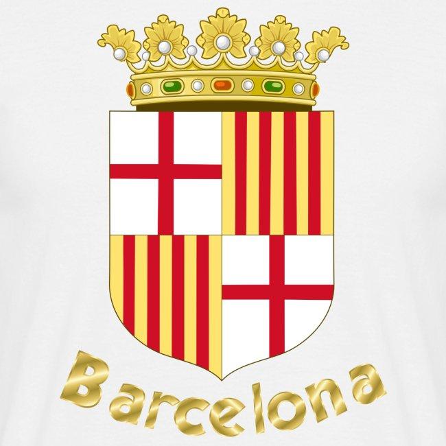 Barcelona mannen t-shirt wit