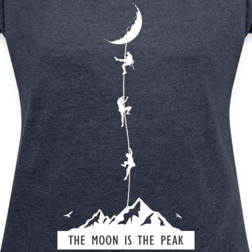 the moon is the peak