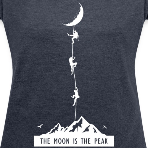 the moon is the peak
