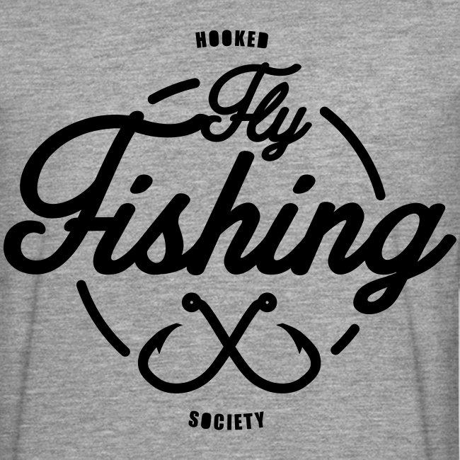 Fishing long sleeve grey
