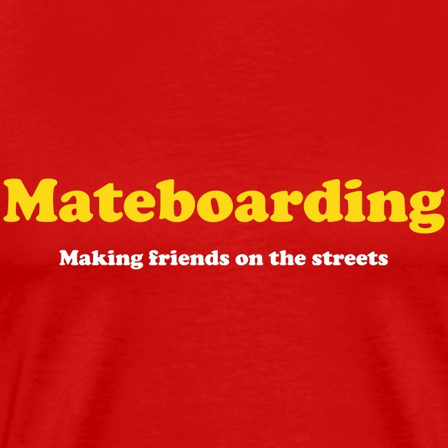 Mate boarding red