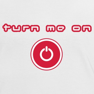 White/red turn me on Women's T-Shirts - Women's Ringer T-Shirt
