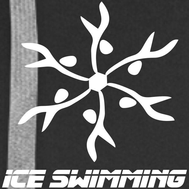 Ice Swimming Zipp-Hoody für Herren