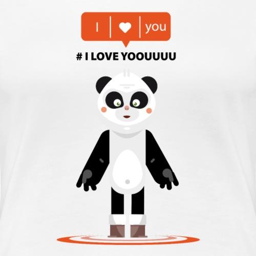 panda i love yoouuu