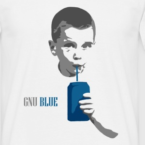 Gnu Blue - Men's T-Shirt