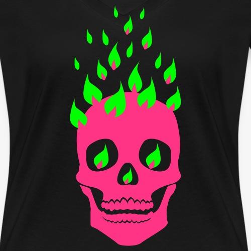 Skull + Lights Tattoo / Totenkopf + Lichter Tatoo