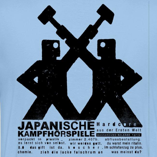 JAPANISCHE KAMPFHÖRSPIELE -   aus der Ersten Welt, beidseitig bedruckt
