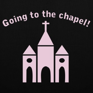Black Going to the Chapel Bags  - Tote Bag