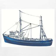 Design ~ Blue Boat (kids)
