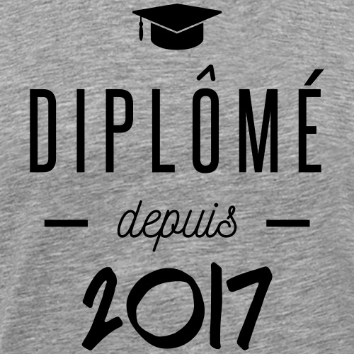 diplomé depuis 2017