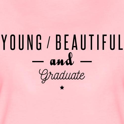 young beautiful graduate