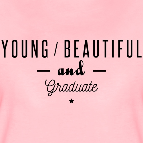 young beautiful graduate