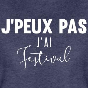j'peux pas j'ai festival