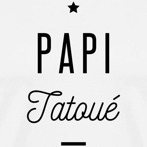 papi tatoué