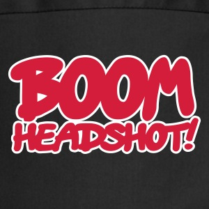 Black BOOM headshot 2c UK  Aprons - Cooking Apron