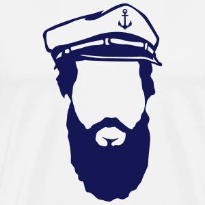 Seemann mit Bart