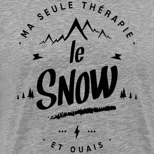 MA SEULE THÉRAPIE LE SNOW