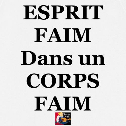 ESPRIT FAIM dans un CORPS FAIM - Jeux de Mots Fran