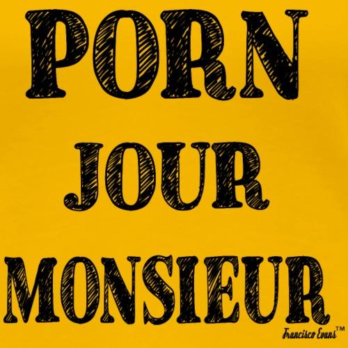 Porn Jour Monsieur, Francisco Evans ™