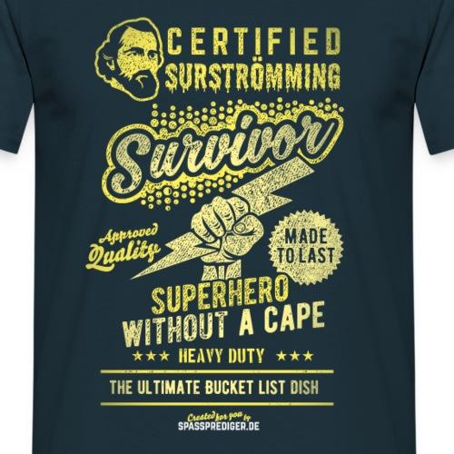 """Surstromming T-Shirt """"Surstromming Survivor"""""""