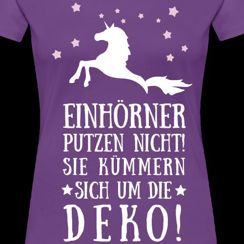 Einhorn Shirt Deko Einhörner putzen