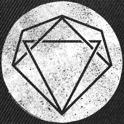 circle grunge diamond wh