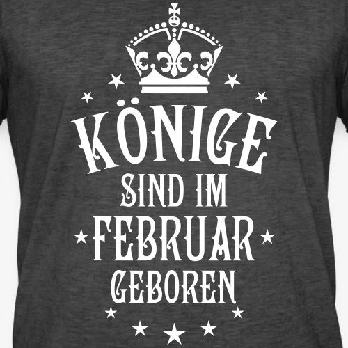 02 Könige sind im Februar geboren Krone Kings
