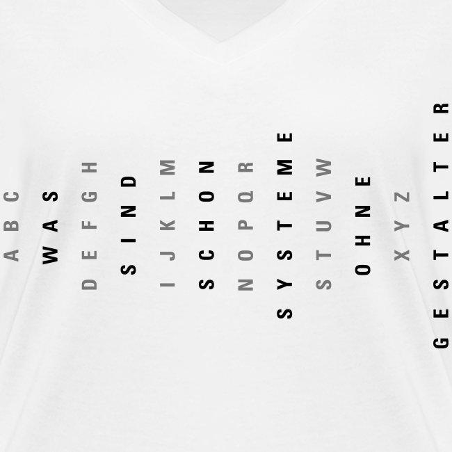 ABC Gestalter (DE), Ws T-Shirt