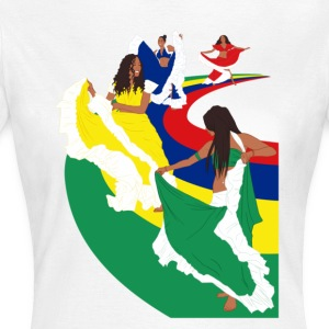 Ladies Sega Dance - White - Women's T-Shirt