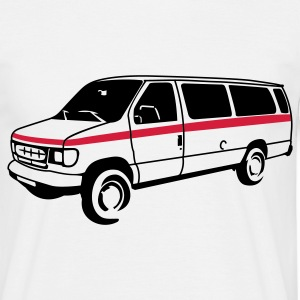 White van T-Shirts - Men's T-Shirt