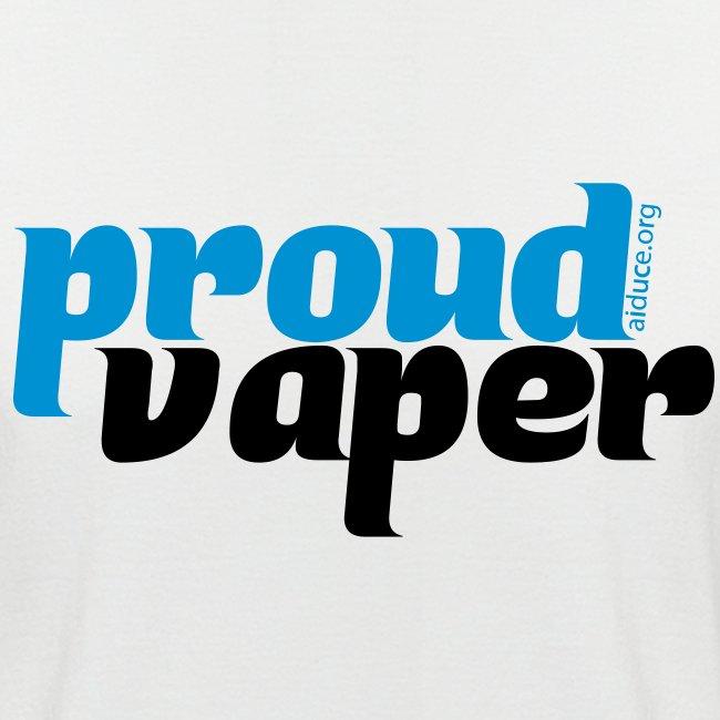 "T-shirt homme ""proud vaper"""