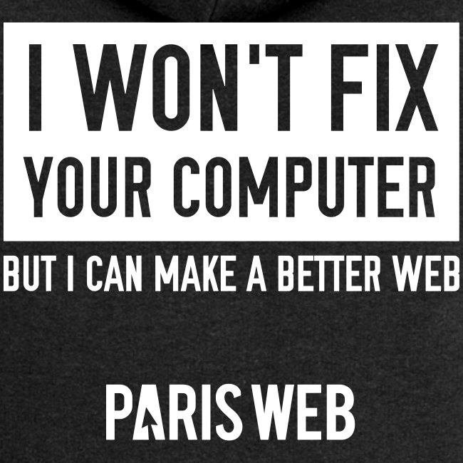 I won't fix your computer - Sweet Femme