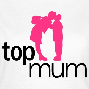 Weiß Top Mum - mothers day, muttertag T-Shirts - Frauen T-Shirt