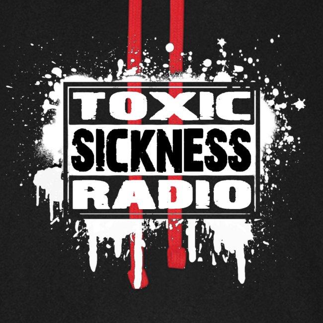 New Design Hoodie With Toxic Sickness Radio Logo