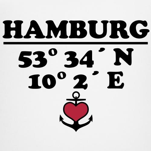 HAMBURG Koordinaten Anker 2c A / Längengrad Breitengrad
