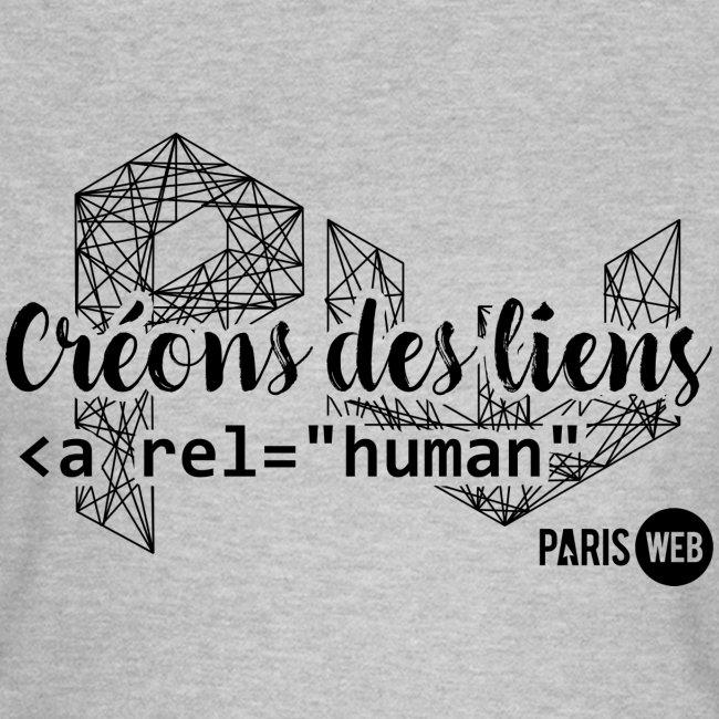 Créons des liens - Sombre - T-Shirt Femme