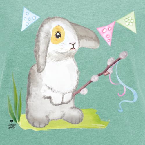 Ostern - Hase feiert